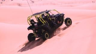 Brengle Explores Dubai Desert In Dune Buggy