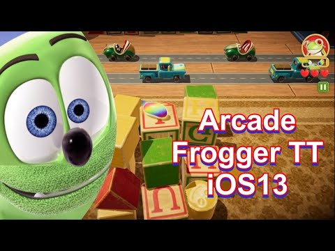 Arcade FroggerTT on iOS13 iPhone11 iphone11pro iphone11promax