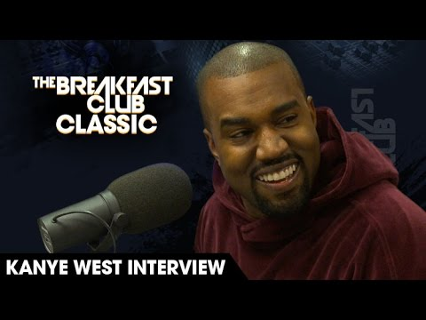 The Breakfast Club Classic - Kanye West Interview 2015