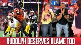 Rudolph deserves blame too & crew reacts to Myles Garret's suspension   SFY NEXT
