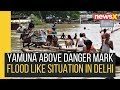 Flood Like Situation in Delhi, Officials Inspect Yamuna Water Level with Drone