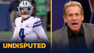 Skip Bayless reacts to the Cowboys Week 3 loss to Russell Wilson's Seahawks | NFL | UNDISPUTED