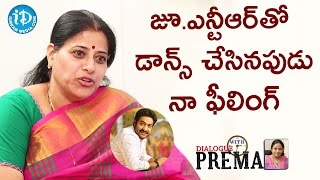 Actress Sudha About Her Dance In Jr NTR Movie || Dialogue With Prema || Celebration Of Life