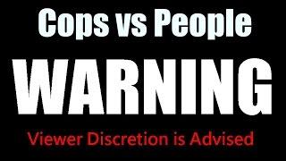 Crazy People Vs Crazy Cops SHOOTOUT, PULLOVER, FIGHTS, DEATH 18+ 2017 complitation  #3