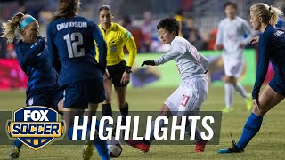 90 in 90: United States vs. Japan | 2019 SheBelieves Cup | FOX SOCCER