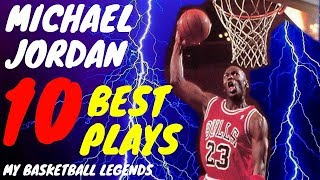 Top 10 Michael Jordan Plays - My Basketball Heroes