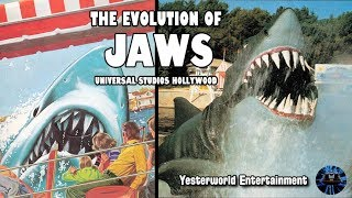 Yesterworld: The Evolution of JAWS at Universal Studios Hollywood