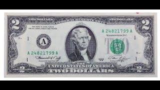 Bí mật phía sau tờ 2 đô la mà nhiều người luôn tìm để trong ví