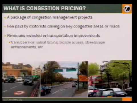 Part II: Presentation on Congestion Pricing to the Transportation Authority , October 16, 2007