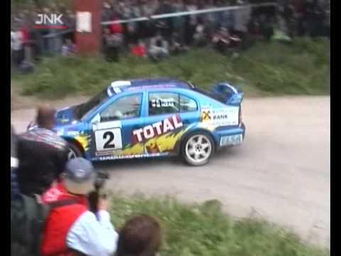 Emil Triner a jeho modrá Octavia WRC