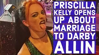 Priscilla Kelly Opens Up About Marriage To AEW's Darby Allin, Her Pro Wrestling Future