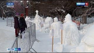 Омич Виталий Шевченко занял второе место на XX фестивале снежных скульптур