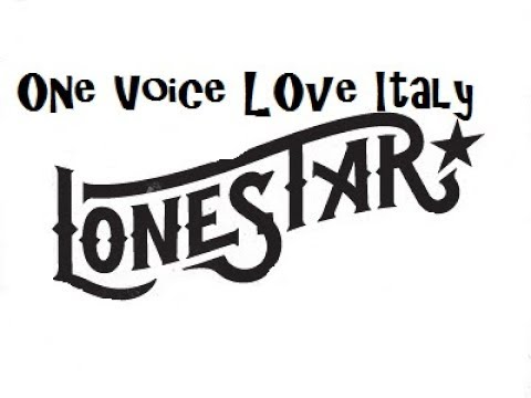 LONESTAR NORAH JONES PERFORMED BY ONE VOICE LOVE ITALY