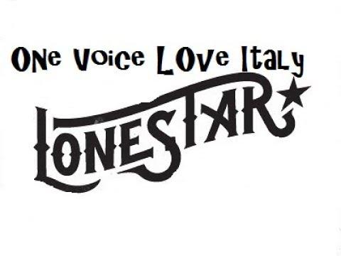 LONESTAR NORAH JONES PERFORMED BY ONE VOICE LOVE ITALY