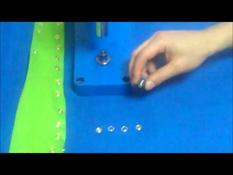 Micron Tep-3 Attaching machine Open Cap Bebeto Snap Installation
