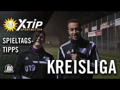 X-TiP Spieltagstipp mit Tim Junge und Pascal Bock (beide TuS Germania Schnelsen II) - 20. Spieltag Kreisliga 5 | ELBKICK.TV
