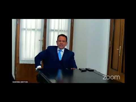 Marcello Minenna, Direttore Adm Al Webinar Acadi su gioco in Regione Lazio