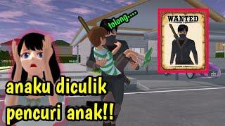 Anaku diculik sama penculik anak!! || Sakura school simulator Indonesia