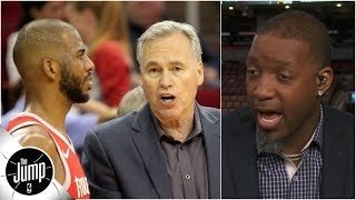 The Rockets shouldn't trade Chris Paul, they should fire Mike D'Antoni - Tracy McGrady | The Jump