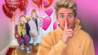 Savannah and Everleigh come home to Emotional Surprise on Valentine's Day!!!
