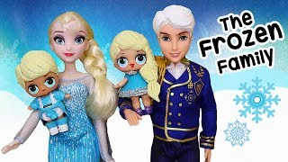 LOL Families ! The Frozen Family with Rascal Brother | Toys and Dolls Fun for Kids | SWTAD