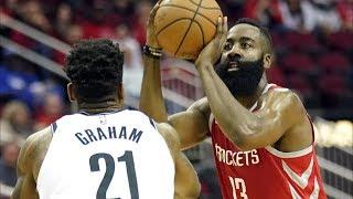 James Harden 58 Points! Dinwiddie Forces OT! 2018-19 NBA Season