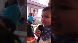Very beautiful bhajan singing by kid