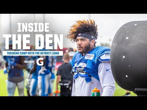 The Lions on the road in Houston | Inside the Den | Season 5, Episode 4