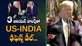 President Trump Declares India As America's 'Premier Defen..