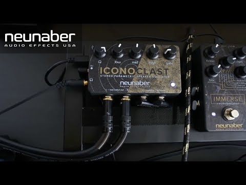 Neunaber Iconoclast Cabinet Simulation & Headphone Amp Pedal
