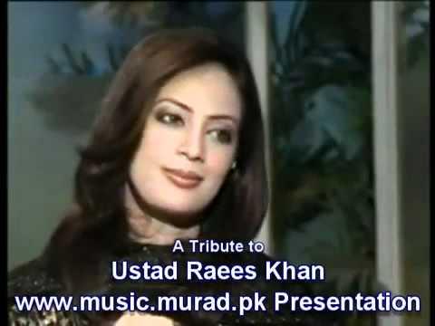 YouTube   Violin Ustad Raees Ahmad Khan Roothe ho tum tum ko kaise manaoon piya nayyara noor instrumental