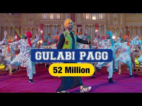 Diljit Dosanjh - Gulabi Pagg (Official Video) Neha Sharma - Jatinder Shah - Ranbir Singh