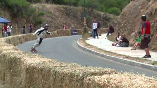 Downhill longboarding event in Chile - Red Bull Big Drop