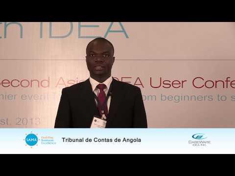 Victor Nzonza, Auditor, Tribunal de Contas de Angola