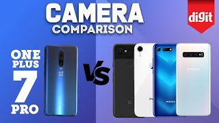 OnePlus 7 Pro vs Samsung Galaxy S10 vs iPhone XR vs Google Pixel 3a vs Honor View 20: Camera