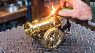 Powerful mini Cannon - Make a mini Cannon - MWIG