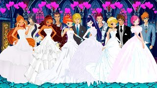 WINX CLUB love story fan animation cartoon - Wedding Season