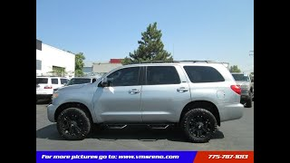 2008 Toyota Sequoia 4WD LV8 6-Spd AT SR5 LIFTED, OFF ROAD TIRES!! (Reno, Nevada)