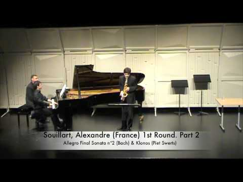 Souillart, Alexandre (France) 1st Round. Part 2