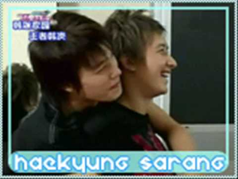 Super Junior Couple in sweet memory