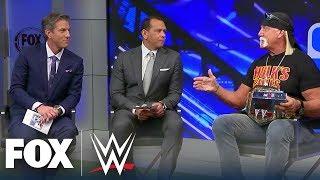 Hulk Hogan joins MLB on FOX crew to preview WWE SmackDown on FOX | WWE ON FOX