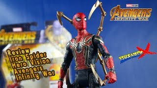 Review Iron Spider Avengers Infinity War Hasbro Hero Vision Movie Action Figure Revision Español
