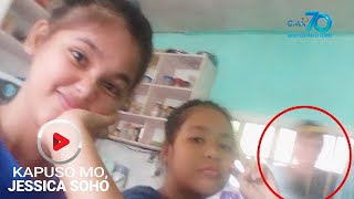 Kapuso Mo, Jessica Soho: Yumaong babae, naki-photobomb sa isang birthday party sa Nueva Ecija?
