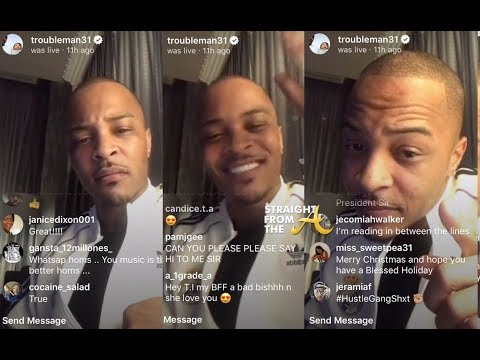 T.I.  Calls Out 'Sell Outs' Who Voted Against Atlanta Mayoral Nominee Keshia Lance Bottoms!!!