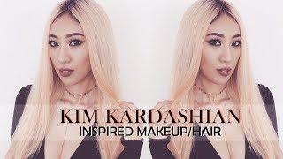 Kim Kardashian Inspired Makeup and Hair [ Vanmiu Beauty ]