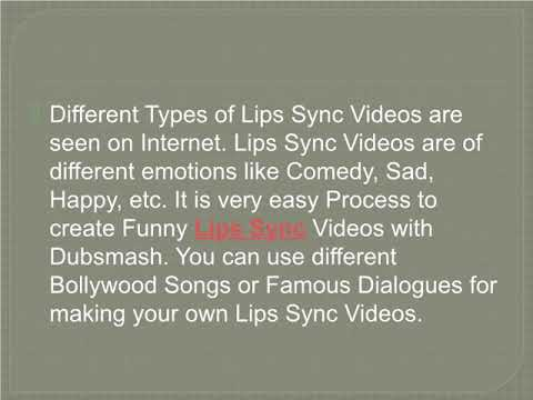 Create Interesting Lip Sync Videos by Learning from Beginners Guide Lips Sync Videos