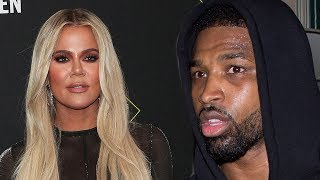 Khloe Kardashian DESPERATELY Tries Telling Tristan Thompson She's NOT Interested As He Keeps Trying!