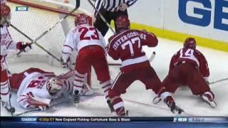 Boston University vs. Harvard Beanpot Goal Highlights - 02/13/2017