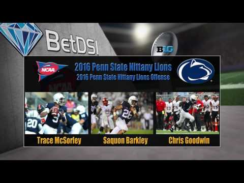 2016 NCAA Betting | Penn State Nittany Lions Team Preview and Odds