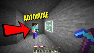 I caught a minecraft noob hacking and using automine..